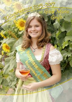 Weinprinzessin Burgwerben,Kriechau, Herzogsberg